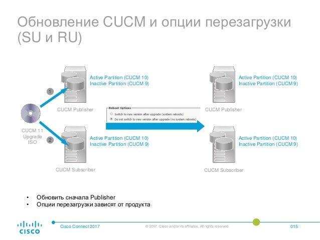 Рекомендации по миграции предыдущих версий Cisco Unified
