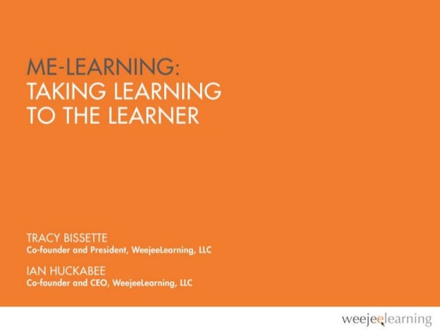 LEARNING HAPPENS EVERYWHERESELF-SERVICE WORKPLACE