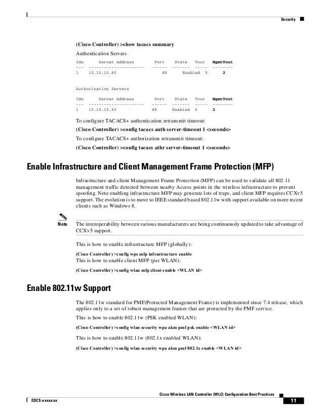 cisco wlan controller configuration guide