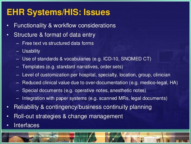 Clinical Information Systems Part   Health It In Clinical Settings