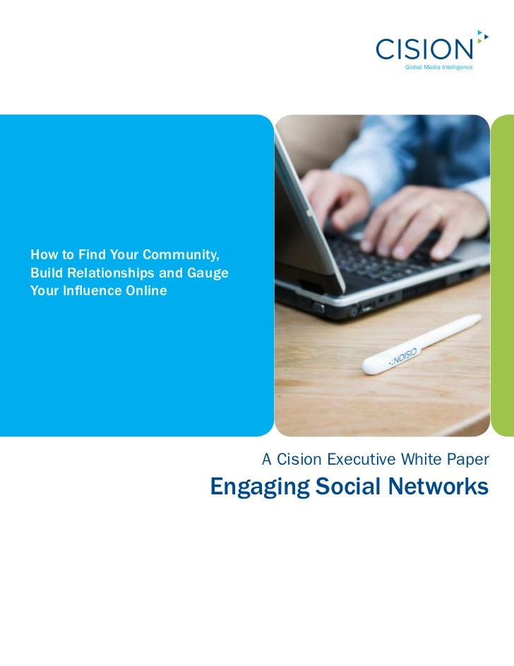 How to Find Your Community, Build Relationships and Gauge Your Influence Online                                     A Cisi...