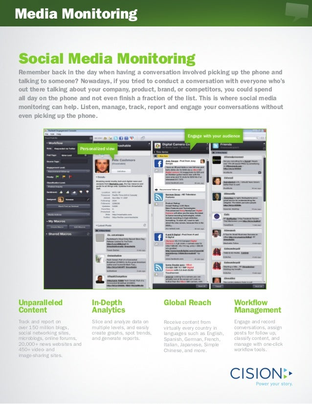 Media MonitoringSocial Media MonitoringRemember back in the day when having a conversation involved picking up the phone a...