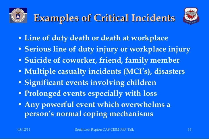 critical incident stress management (cism) a statistical review of the literature