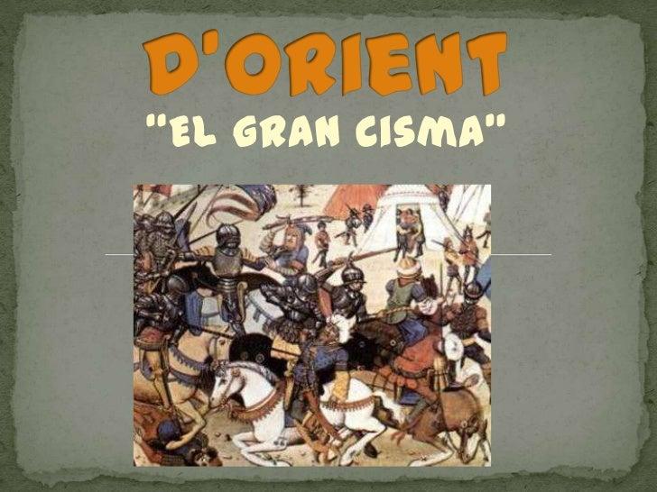 """El gran Cisma"""