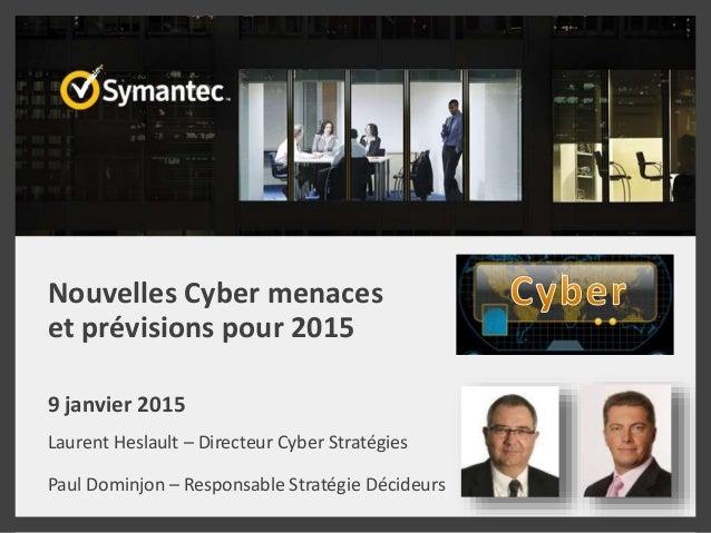 Cyber risques: Etes-vous prêts ? 7 prévisions pour 2015