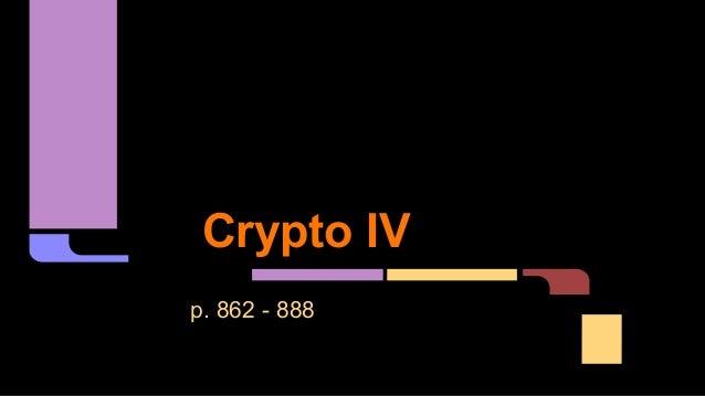 Crypto IV p. 862 - 888