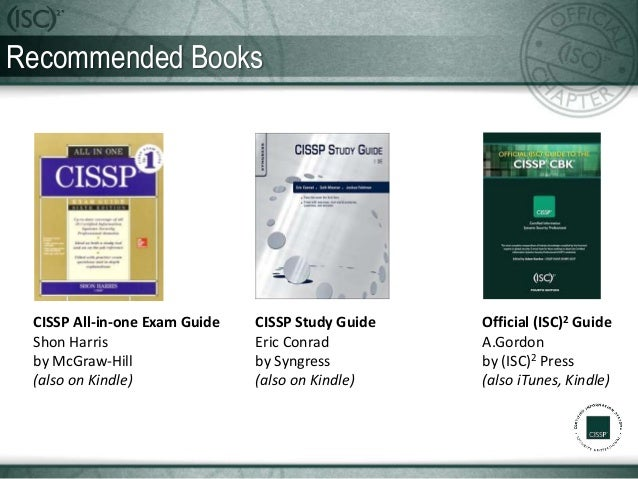 Official (ISC)² Textbooks | Study Guides and Resources