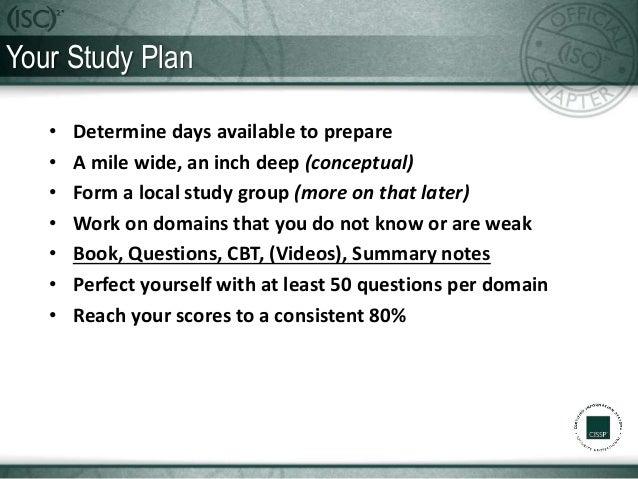 How to Prepare for the CISSP Exam