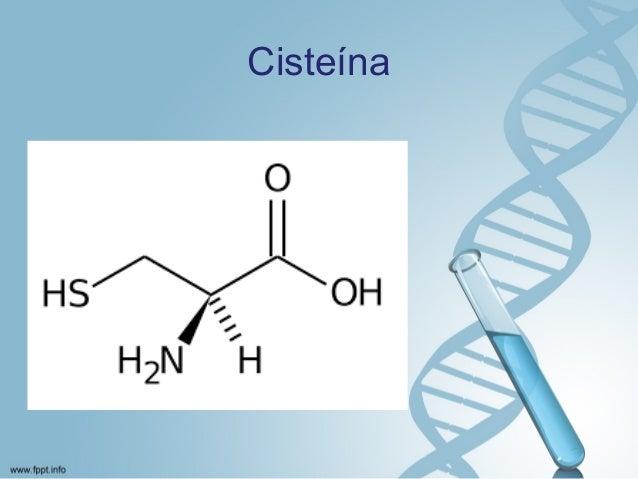 cisteina propiedades fisicas y quimicas