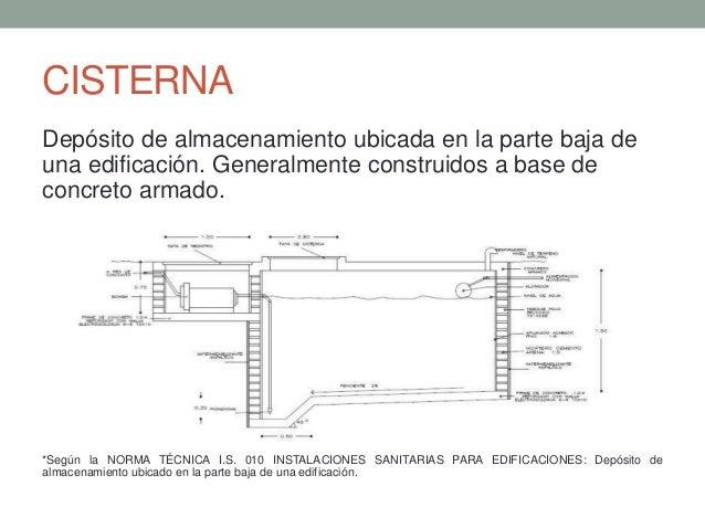 Cisterna y tanque elevado for Cisternas de cemento