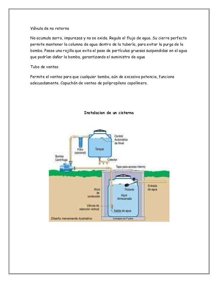 Cisternas for Cisternas de agua a domicilio