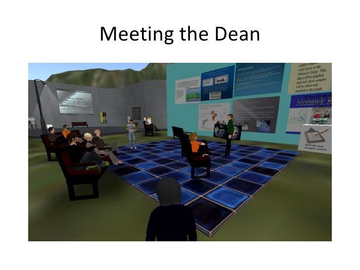 Meeting the Dean