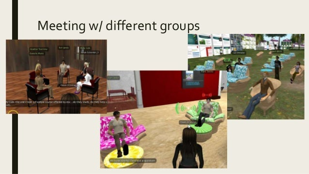 Meeting w/ different groups