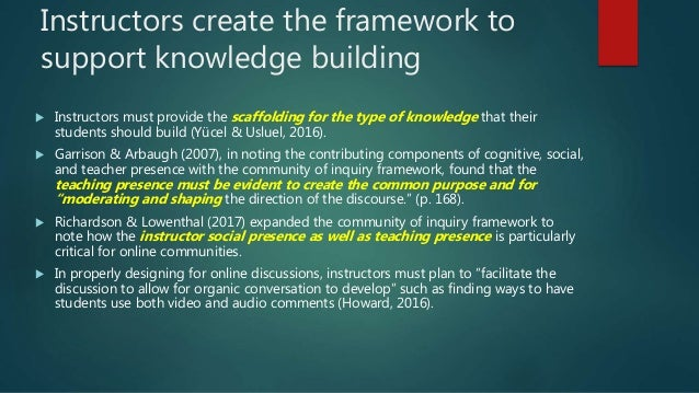 Final video topics – essentially unprompted responses / instructor assessment Final video topics raised: Video Itself Comm...
