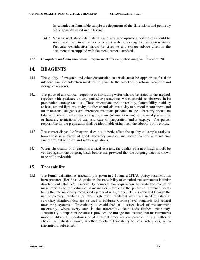 The feed analysis laboratory: Establishment and quality ...