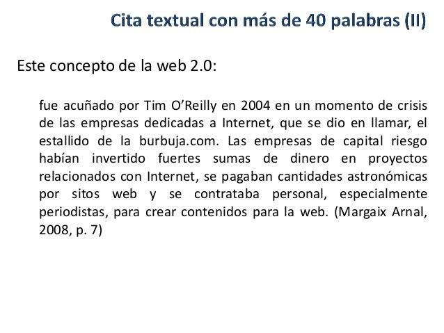 Citas web 2 0