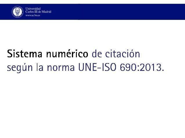 Sistema numérico de citación