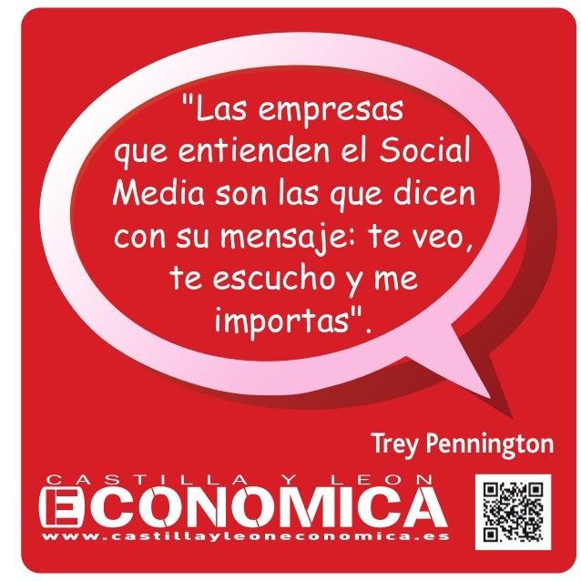 """Trey Pennington """"Las empresas que entienden el Social Media son las que dicen con su mensaje: te veo, te escucho y me impo..."""