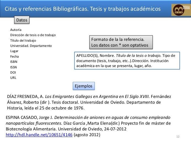Ejemplos De Citas Bibliograficas