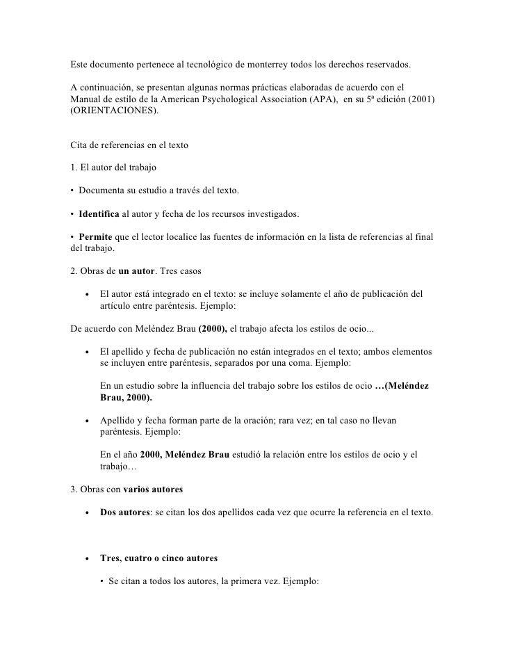 Este documento pertenece al tecnológico de monterrey todos los derechos reservados.  A continuación, se presentan algunas ...