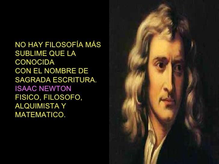 Frases Celebres De Isaac Newton Sobre Dios Mensagem De