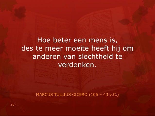 Citaten Cicero : Citaten