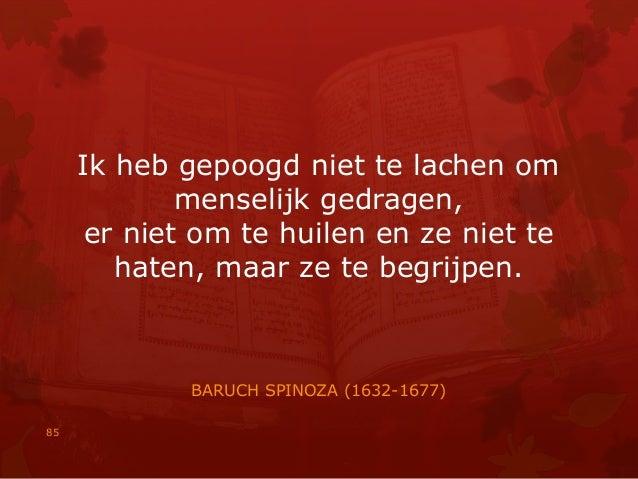 Citaten Spinoza : Citaten