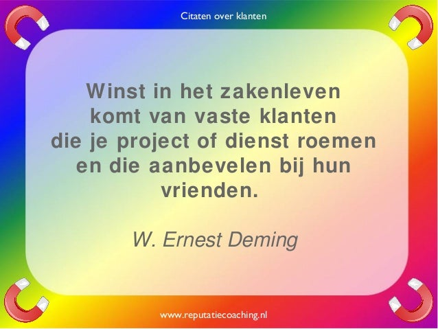 Citaten Over Filosofi : Citaten over klanten quotes en oneliners reputatiecoaching