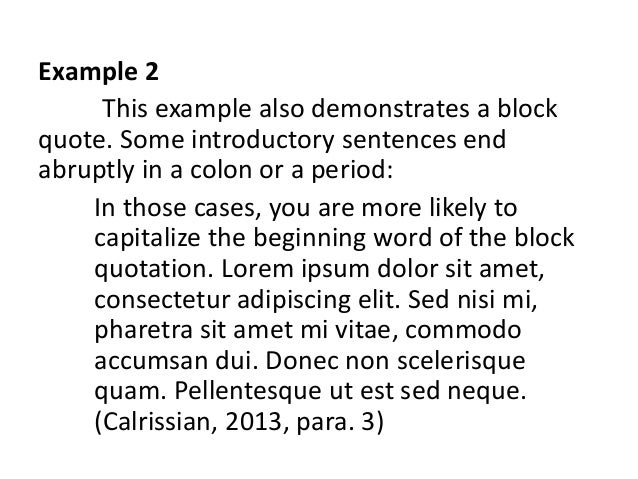 Citation Apa Style