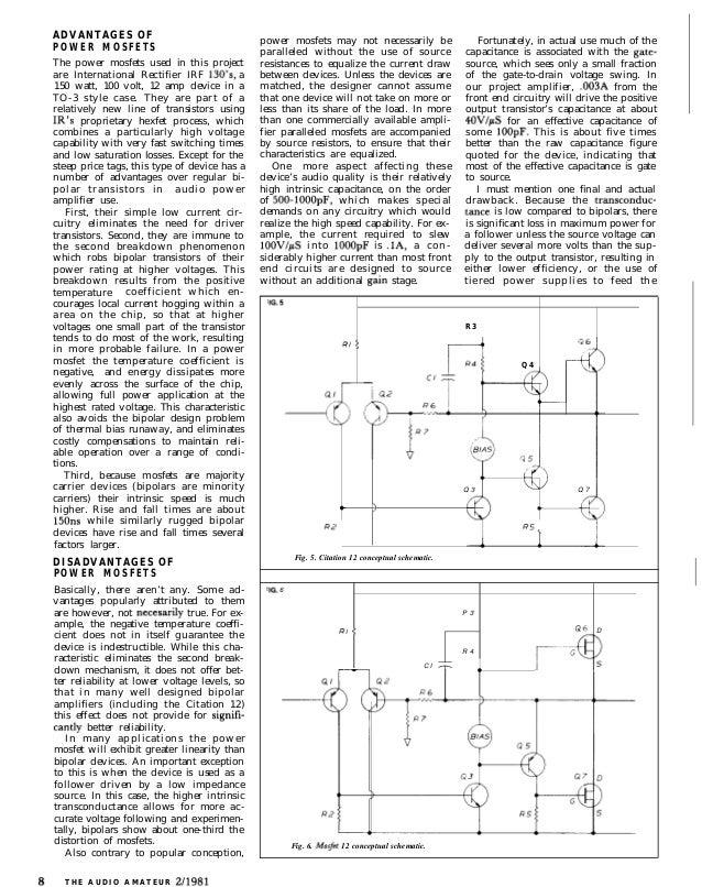 Citation clone amplifier