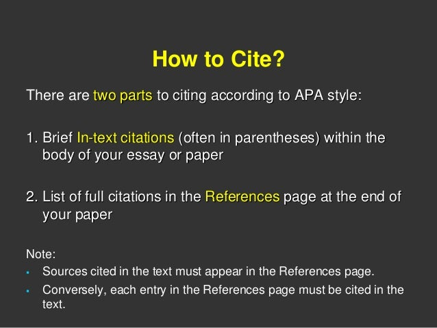 apa citation within essay Get apa essay help on apa essay format and apa at least in the first reference within the essay information on formatting your apa essay now easier.