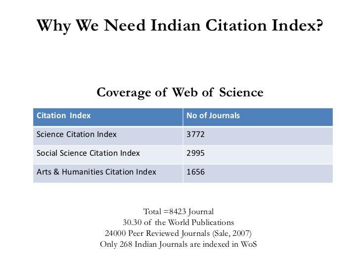 Citation Indexing