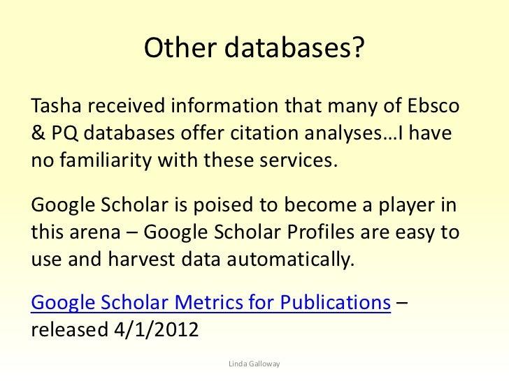 Citation Metrics Slide 3