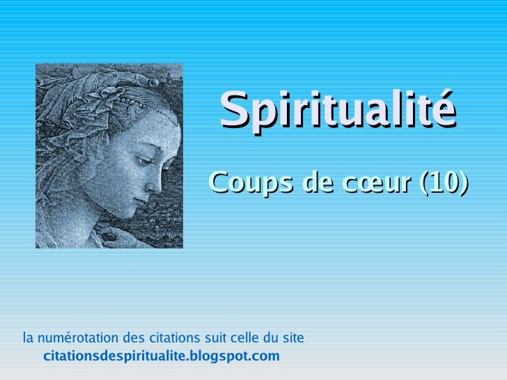 Site de rencontre spiritualité