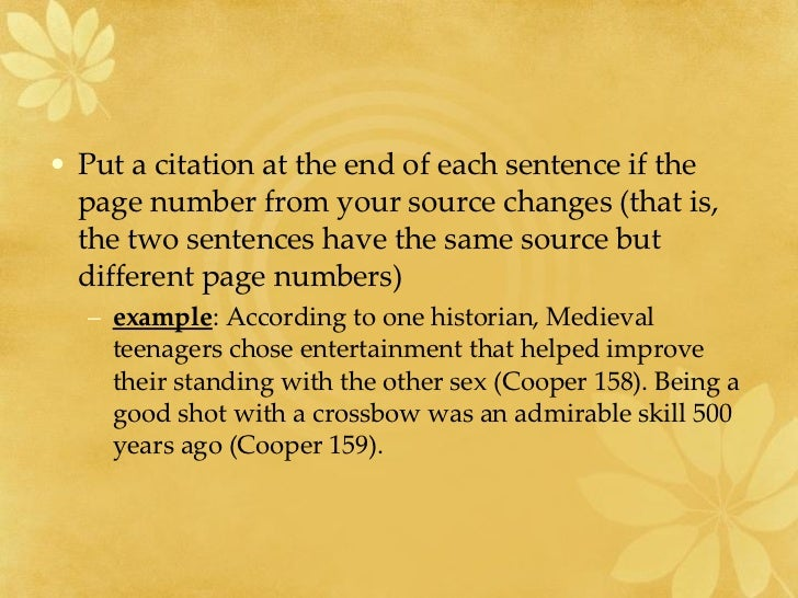 example of essays with citations