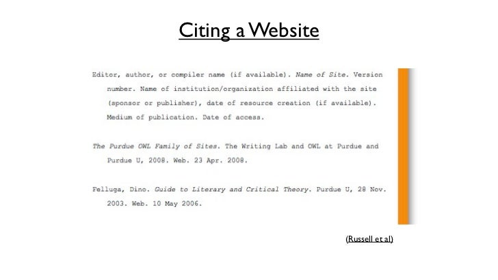A Step by Step Guide: How to Cite a Website in MLA 8