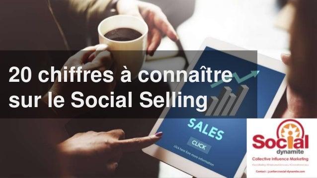 Le social selling20 chiffres à connaître sur le Social Selling