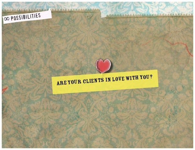 love with you? s in Are your client