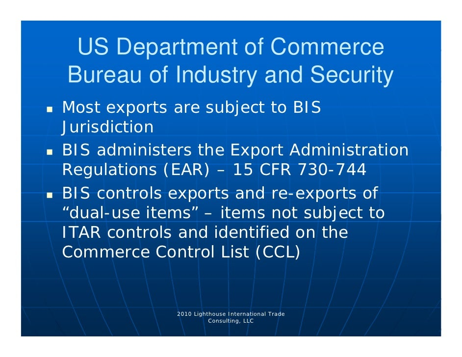 export compliance 4 13 10