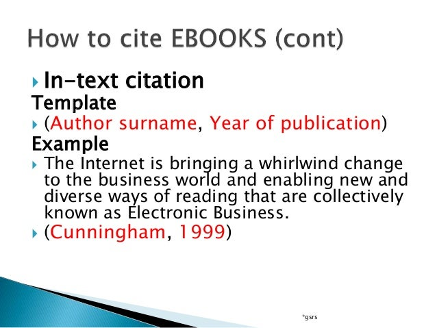 Citations in Text   APA   Conestoga These tables show how to cite different kinds of resources in APA and MLA format