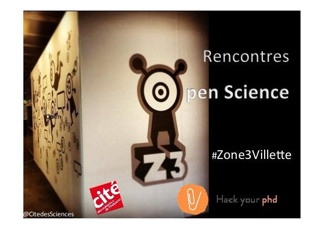 Image  @CitedesSciences   Open   #Zone3Ville8e