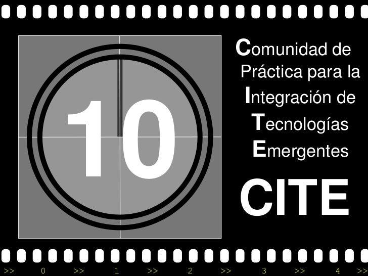 Comunidad de                                Práctica para la                                Integración de         10     ...
