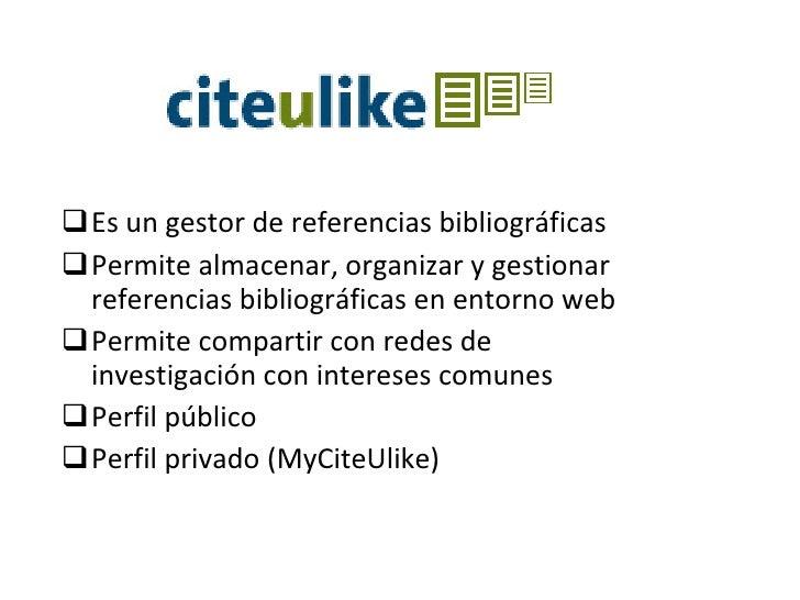 CiteULike Slide 2