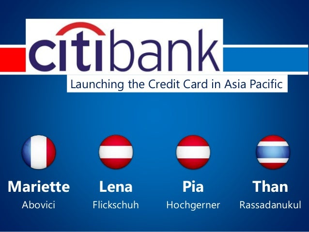 Mariette Lena Pia Than Abovici Flickschuh Hochgerner Rassadanukul Launching the Credit Card in Asia Pacific