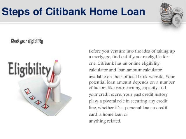 citibank home loan