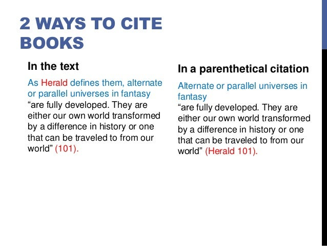 how to cite a quotation from a book