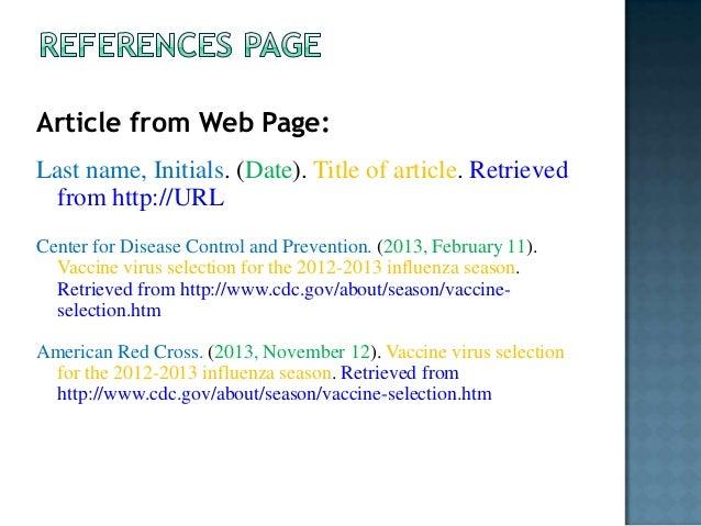 citing a website pdf apa