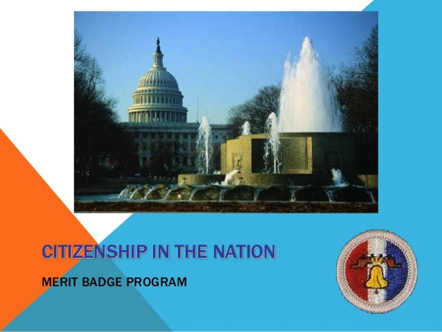 Citizen in the Nation Merit Badge Troop 26 July 2013 – Citizenship in the World Worksheet Answers