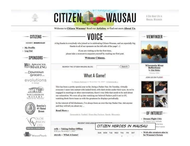 Citizen Heroes in Quebec
