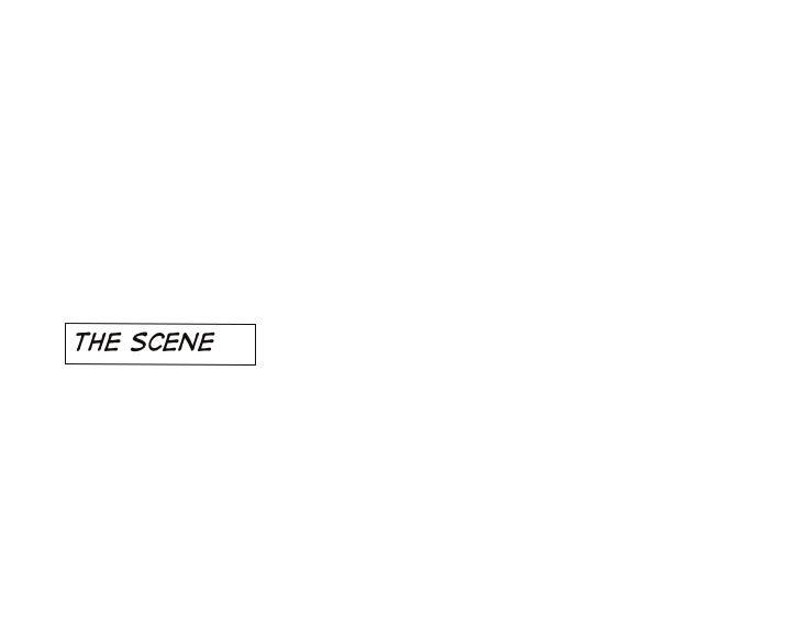 the scene